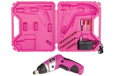 The Original Pink Box 4-Volt Lithium-Ion Cordless Screwdriver
