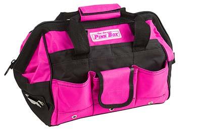 the original pink box tool bag hero