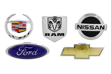 Ford Ranger Premium Licensed Logo Hitch Covers by Pilot