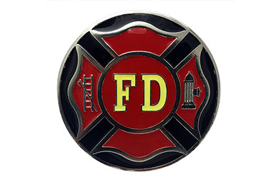 Dodge Durango Siskiyou Sports Firefighter Metal Hitch Covers