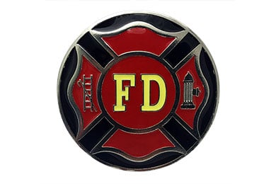 Ford Ranger Siskiyou Sports Firefighter Metal Hitch Covers