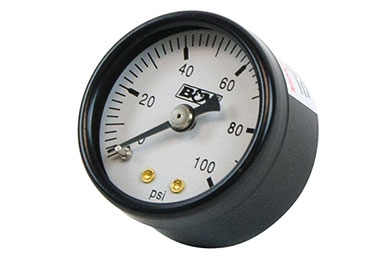 b and m fuel pressure gauge