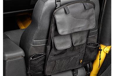 Jeep Wrangler Bestop RoughRider Soft Storage Seat Back Organizer