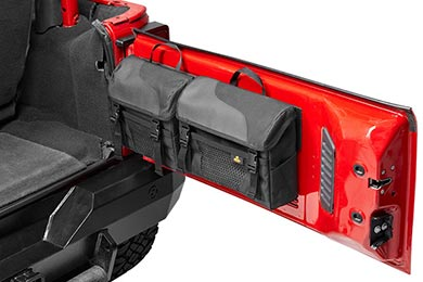 Jeep Wrangler Bestop RoughRider Soft Storage Tailgate Organizer