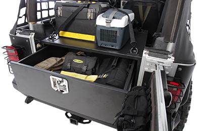 Jeep Wrangler Smittybilt Security Storage Vault