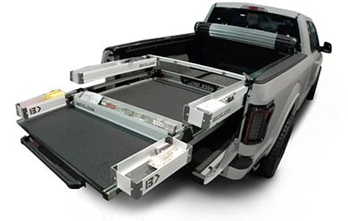 Ford Explorer Bedslide Bed Bins