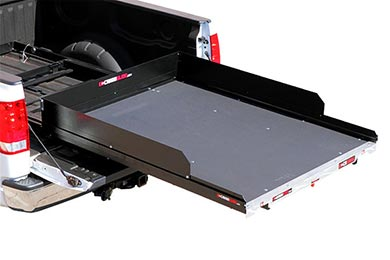 cargoglide 1500 series steel truck bed sliding tray