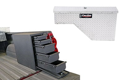Chevy Colorado Dee Zee Specialty Series Wheel Well Truck Toolbox