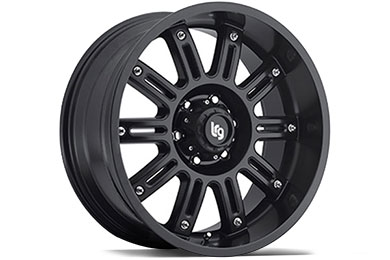 LRG Rims LRG102 Matte Black Finish Wheels