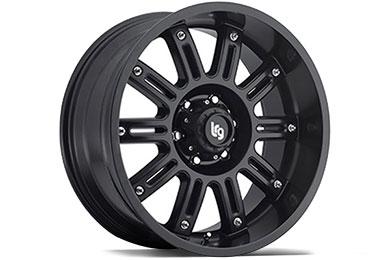 LRG Rims LRG102 Matte Black Finish Wheels