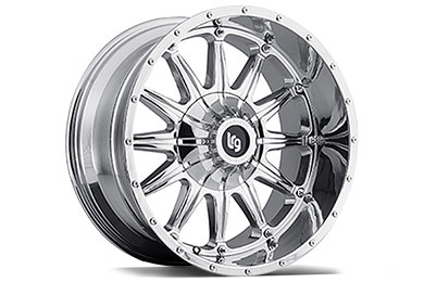 LRG Rims LRG103 Chrome Finish Wheels