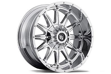 LRG Rims LRG103 Chrome Finish Wheels