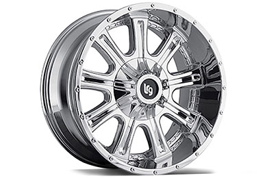 LRG Rims LRG105 Chrome Finish Wheels