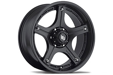 LRG Rims LRG106 Matte Black Finish Wheels