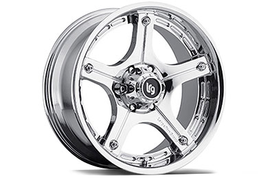 LRG Rims LRG106 Chrome Finish Wheels