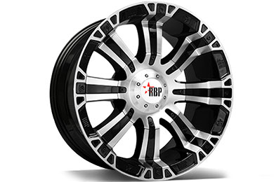 RBP 94R Black Machined Wheels