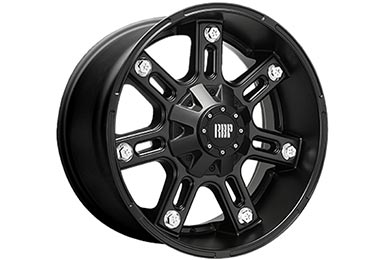 RBP 97R Flat Black Wheels