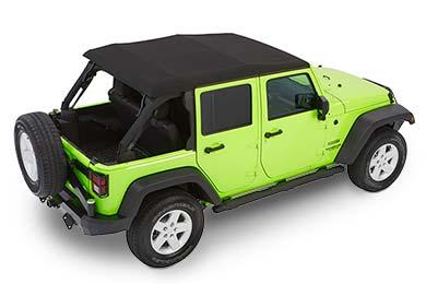 Jeep Wrangler Bestop TrekTop NX Glide Soft Top