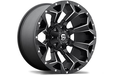 Jeep Grand Cherokee Fuel Assault Wheels