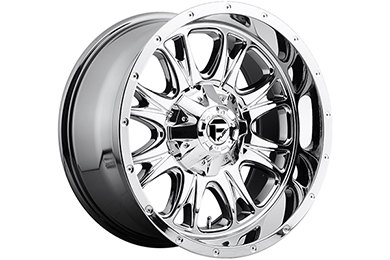 Ford Mustang Fuel Throttle Wheels
