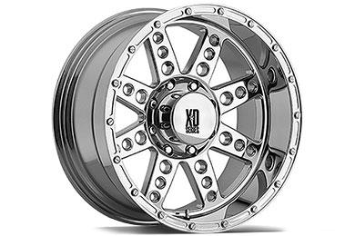 XD Series 766 Diesel Chrome Wheels