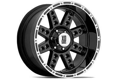 XD Series 766 Diesel Gloss Black Wheels