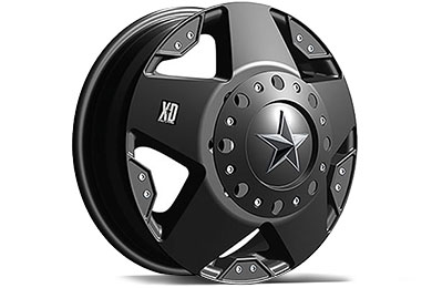 XD Series 775 Rockstar Dually Matte Black Wheels