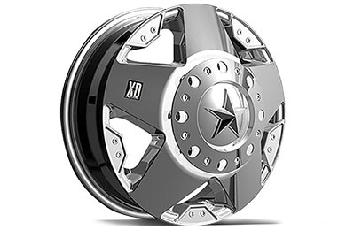 XD Series 775 Rockstar Dually Chrome Wheels