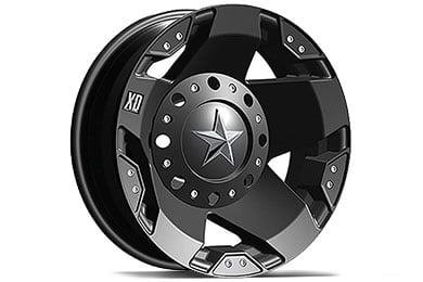 XD Series 775 Rockstar Matte Black Wheels