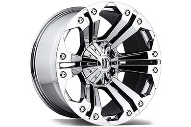 XD Series 778 Monster Chrome Wheels