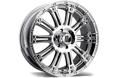 XD Series 795 Hoss Chrome Wheels
