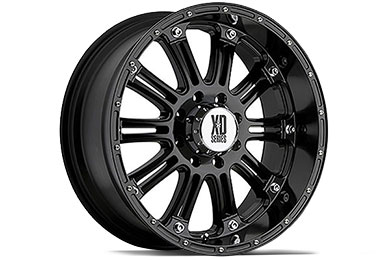 XD Series 795 Hoss Gloss Black Wheels