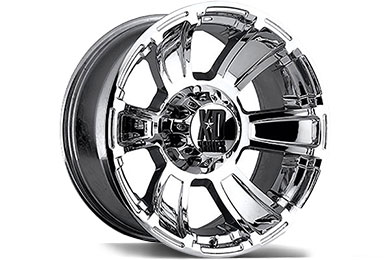 Chevy Silverado XD Series 796 Revolver Chrome Wheels
