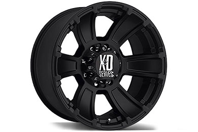 XD Series 796 Revolver Matte Black Wheels