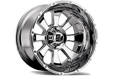 XD Series 799 Armour Chrome Wheels