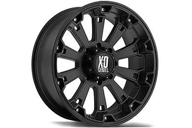 XD Series 800 Misfit Matte Black Wheels