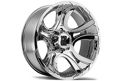 Chevy Silverado XD Series 801 Crank Chrome Wheels
