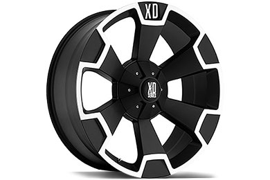 XD Series 803 Thump Matte Black Wheels
