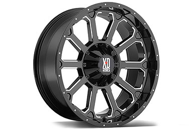 XD Series 806 Bomb Gloss Black Wheels