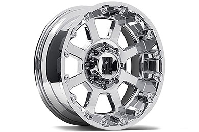 XD Series 807 Strike Chrome Wheels
