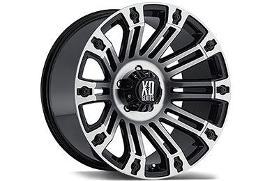 XD Series 810 Gloss Black Machined Wheels
