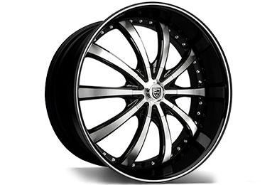 Lexani LSS-10 Black Machined Wheels