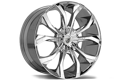 Audi R8 Lexani Lust Chrome Wheels
