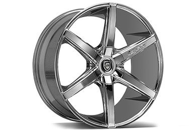 Chevy Silverado Lexani R-SIX Chrome Wheels
