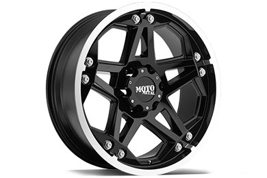 Moto Metal MO960 Gloss Black Machined Wheels