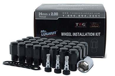 Chevy Silverado Mr. LugNut Dually Mag Wheel Installation Kit
