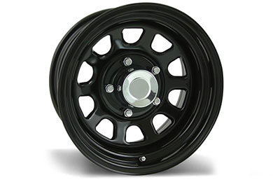 pro comp series 52 rock crawler steel wheels  3