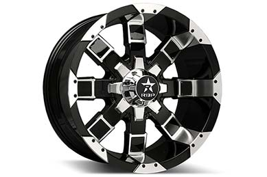 RBP 95R Black Machined Wheels