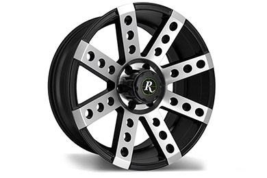 Jeep Wrangler Remington Buckshot Wheels