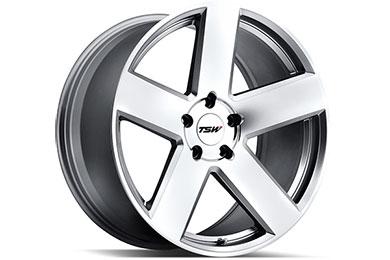 Volkswagen Jetta TSW Bristol Wheels